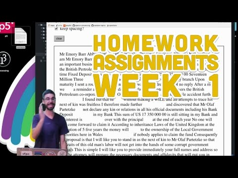 assignments week 1 Assignments week 1 please have your reflection blog ready with your first post (email me the url of the blog) read page 17-26 from the cictt guide week 2.
