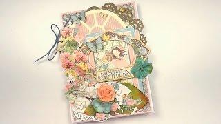 Photo frame card - Scrapbooking tutorial / Aida Handmade