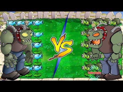 Plants vs. Zombies Hack  : Plant ICE vs Fire   vs Dr. Zomboss