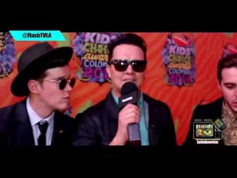 Kids Choice Awards Colombia 2014 - Alfombra Naranja