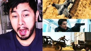 MAZE RUNNER: THE DEATH CURE     W...T...F?!    Trailer Reaction