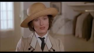 """Karen is diagnosed with syphilis - """"Out of Africa"""" - Meryl Streep"""