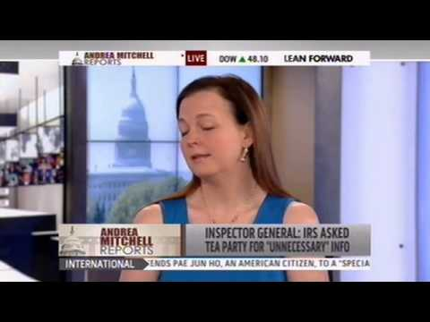 MSNBC Features Jenny Beth Martin of Tea Party Patriots on Unfolding IRS Scandal