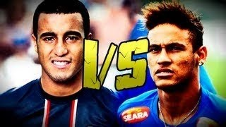 Neymar Jr Vs Lucas Moura | Who is the Best? | Ultimate Skills | 2013 HD