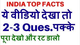 INDIA TOP GK | EXAMS SURE SHOT- IAS, PCS,SSC CGL,IBPS,SBI,Clerk,Police,RBI