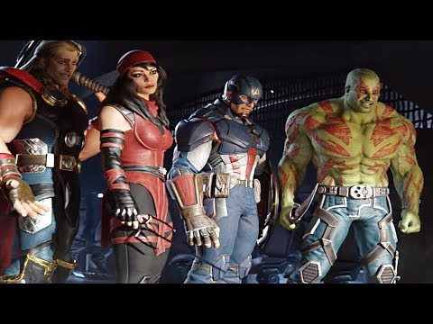 NEW AVENGERS GAME | E3 2018 Announcement | Gameplay & Graphics Details