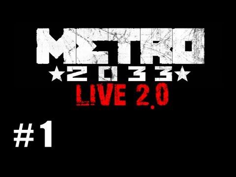 Juguemos Metro 2033 Ep. 1 - Parece una pelicula
