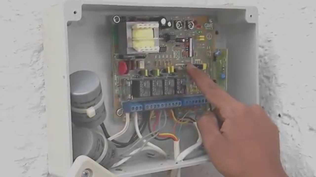 Porton Electrico Seg Programacion Nuevo Control Remoto