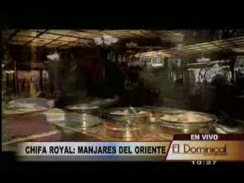 chifa royal y los manjares de la cocina china