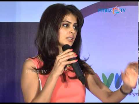 Acress Genelia at Myntra.com Launch