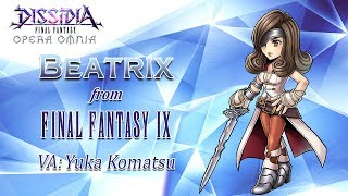 DISSIDIA FINAL FANTASY OPERA OMNIA – Beatrix Teaser