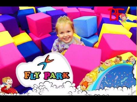 Fly Park Детский Центр Развлечений Харьков/Fly Park Children's Entertainment Centre In Kharkov