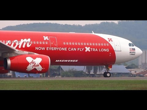 [FULLHD] THE MOVIE AirAsia X Airbus A330 & Malaysia Airlines Boeing 737 Subang Skypark Airport WMSA