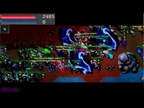 [Zingi PD] Tibia TITANIA War: The Ultimate War, Niclas Moen VS Evil Activities +VT REC  [HD] ★ ★