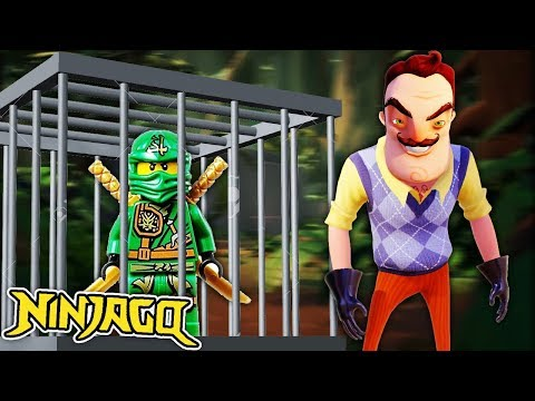 MINECRAFT  | LLOYD FROM NINJAGO CANT ESCAPE THE NEIGHBOURS HOUSE!!