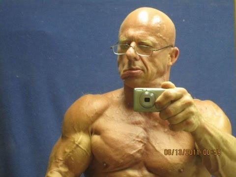 WOW 60 Year Old Bodybuilder