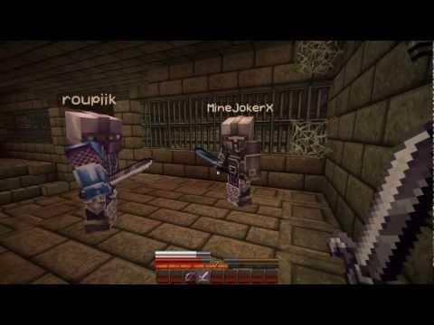 Minecraft Nos ík [CZ] Herobrine's Mansion E01 w/ Roupík and Joker ᴴᴰ