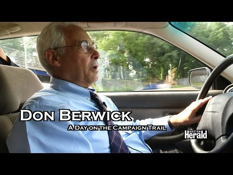 Don Berwick Day on Campaign Trail for Mass. Governor Race