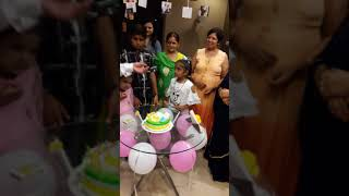 Birthday party dekhiye dhruv madaan ke sath