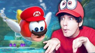 ASI SE GANA EL LAGO! Super Mario Odyssey #4