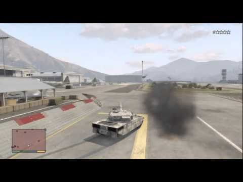 GTA 5 Rhino Army Tank Tutorial: How To Get RHINO TANK FOR FREE!