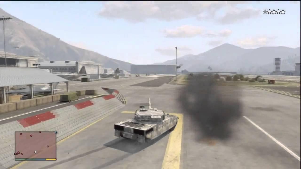 GTA 5 Rhino Army Tank Tutorial: How To Get RHINO TANK FOR FREE ...