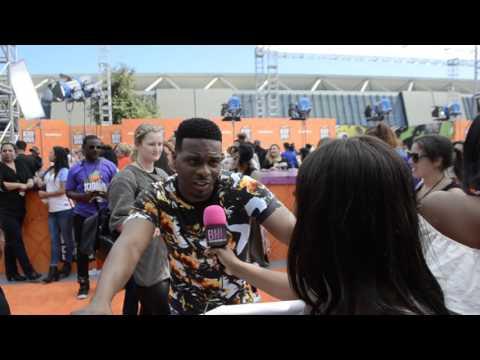 Kel Mitchell Shares Fav Sport Track & Field @ Kids Choice Sports | Black Hollywod Live