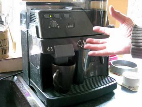 saeco vienna superautomatica espresso coffee and cappuccino machine
