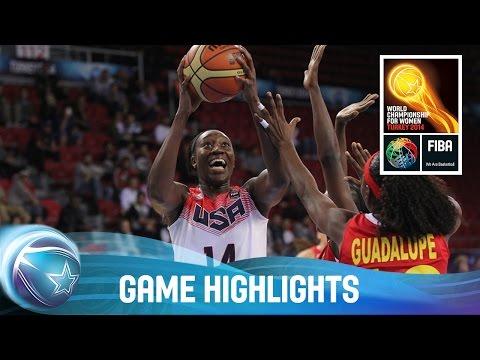 USA v Angola - Game Highlights - Group D - 2014 FIBA World Championship for Women