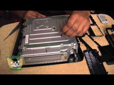 How to put an Xbox 360 SLIM back together