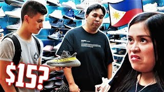 Philippines Fake Market GREENHILLS Manila! With Carlo Ople!