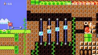 Captain Toad. Do Not Jump!! by PaulHallas - LEVEL REMOVED - Super Mario Maker - No Commentary
