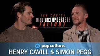 Henry Cavill and Simon Pegg - Mission: Impossible Fallout Exclusive Interview