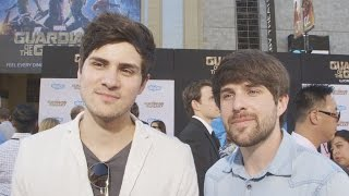 [Smosh's Ian & Anthony Guardians of the Galaxy Premiere] Video