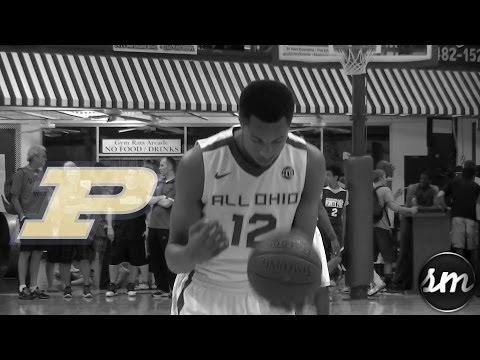 Purdue commit Vince Edwards Summer Mixtape [ESPN #88 c/o 2014]