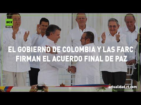 despues de 52 anos, el gobierno de colombia y las farc firmaron la paz