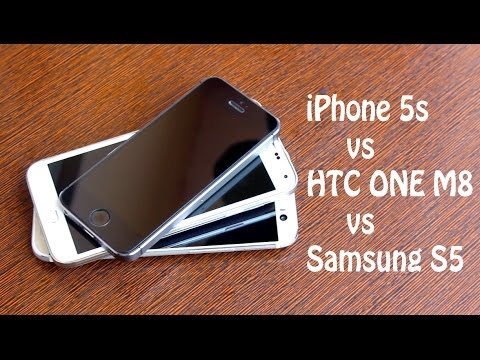 Samsung S5 vs HTC One M8 vs iPhone 5s - Which Is Faster ?