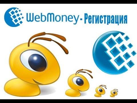 Регистрация в WebMoney и создание кошелька