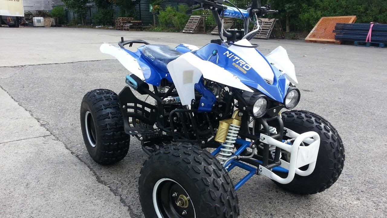 Quad Warrior 125cc 125cc Semi-automatic Quad