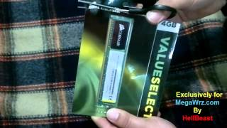 corsair 4gb ram unboxing .mp4