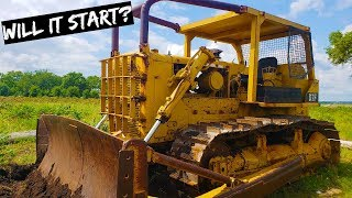 I Bought the Cheapest Cat Bulldozer & First Start in 10 years