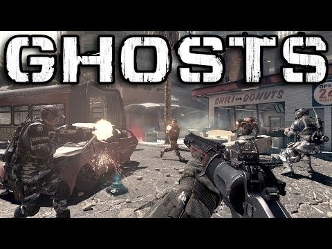 Call of Duty: Ghosts Multiplayer Review (COD Ghost Online Gameplay)