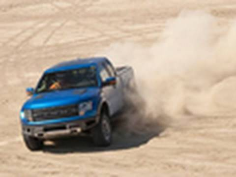 First Drive: 2011 Ford F-150 SVT Raptor 6.2