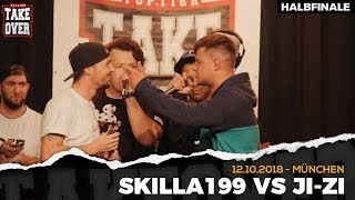 JI-ZI vs. Skilla199 - Takeover Freestyle Contest | München 12.10.18 (HF 2/2)