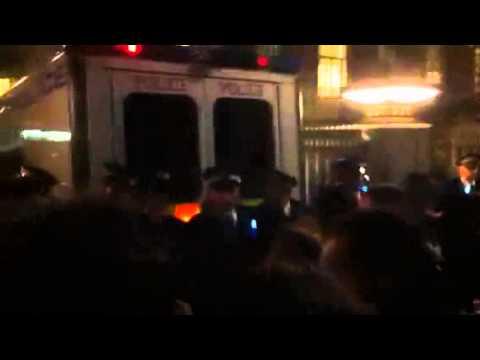 'You killed Mark Duggan' police at #occupySH