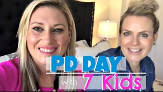 PD Day - Burnt Breakfast & A Booby Trap | Cat & Nat Vlog 37