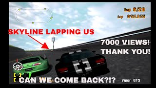 Gran Turismo 3 Like the Wind- GETTING THE VIPER AND I LAPPED! CAN WE WIN?!? (7000 VIEWS THANK YOU)