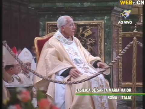 Missa na Igreja Santa Maria Maior em Roma