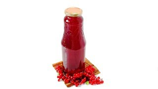 Красная Смородина ✧ Концентрированный сироп для приготовления напитков