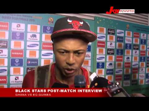 POST MATCH INTERVIEWS GHANA VS GUINEA AT AFCON 2015 BY KWAME DWOMOH